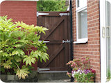 Garden gate made for a house in Prestwich.